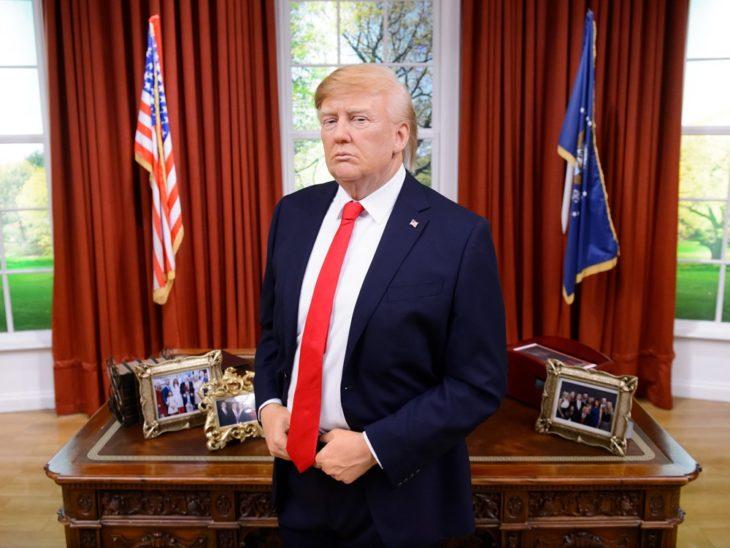 Donald Trump museo de cera