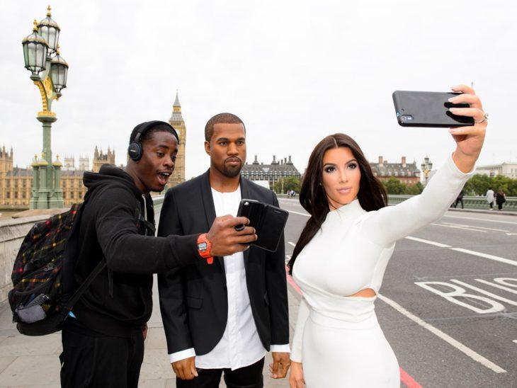 Kim y Kanye museo de cera