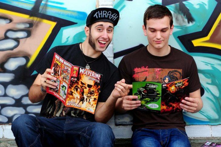 Los amigos comics