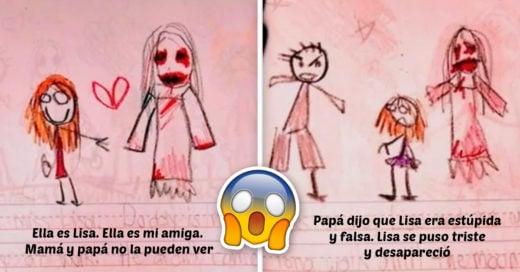 Cover Diario muestra amiga imaginaria aterradora