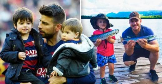 Cover Padres famosos que adoran a sus hijos