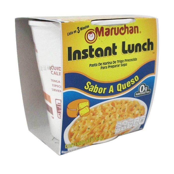 sopa maruchan de queso