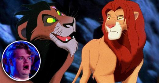 Cover Disney reveló que Mufasa y Scar de El Rey León no son hermanos