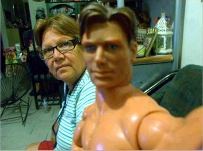 Selfie con Maz Steel