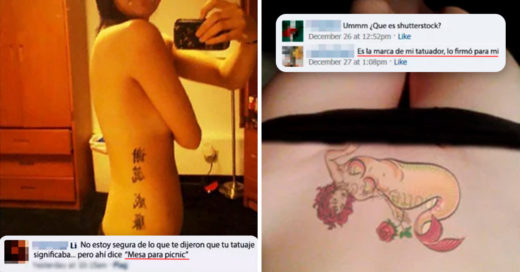 Cover Orgullosas personas presumiendo sus horribles tatuajes en Facebook