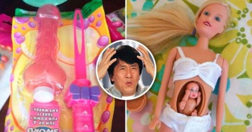 Cover juguetes infantiles ridículos e inapropiados