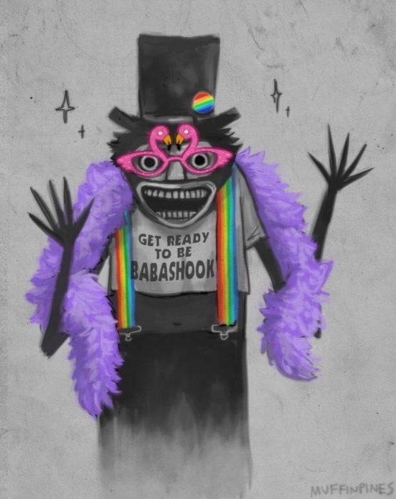 babadook gay disfraz