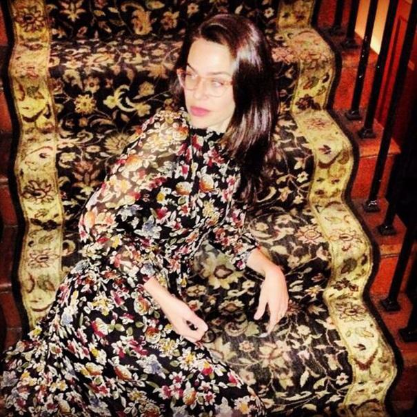 vestido igual que alfombra