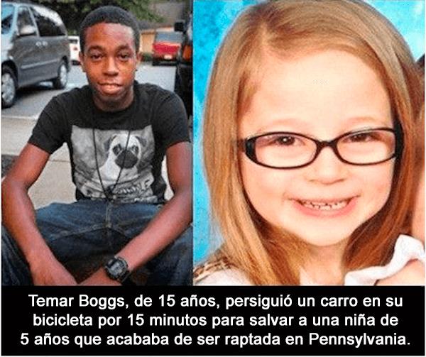 Joven rescata a niña de 5 años secuestrada