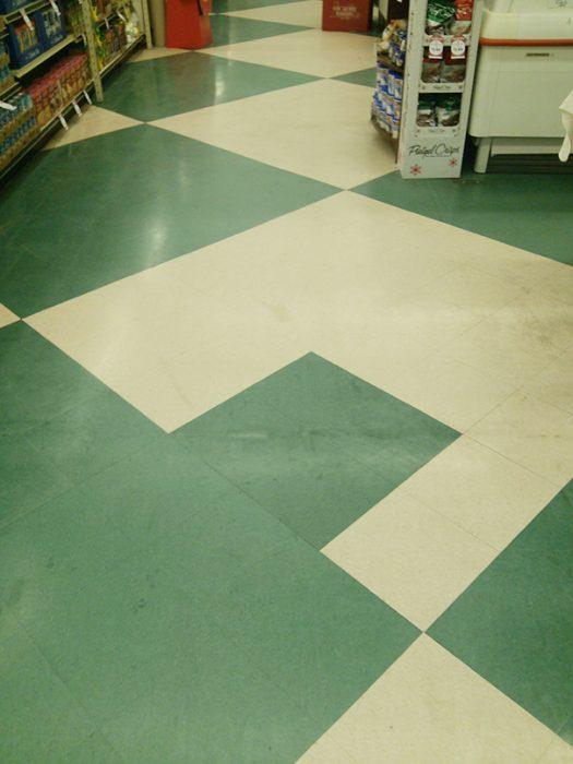 piso asimetrico