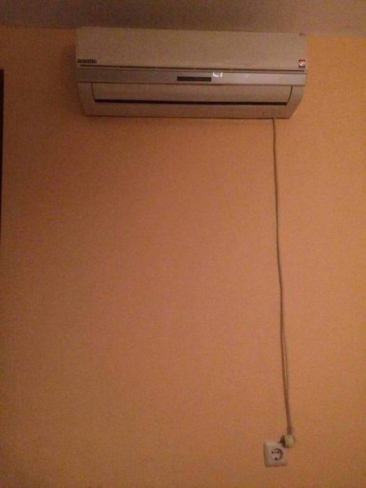 conexión aire acondicionado