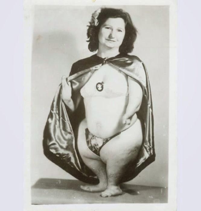 La mujer pingüino