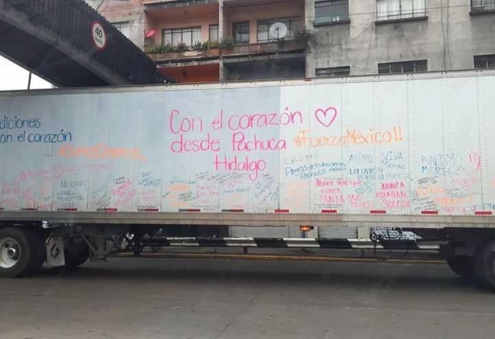 Terremoto México - ayuda Pachuca