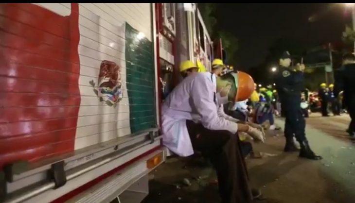Terremoto México - voluntarios agotados