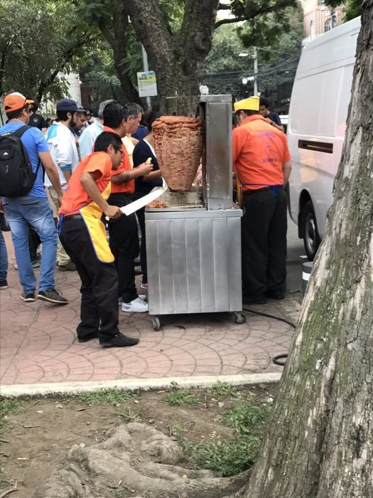 Terremoto México - tacos gratis