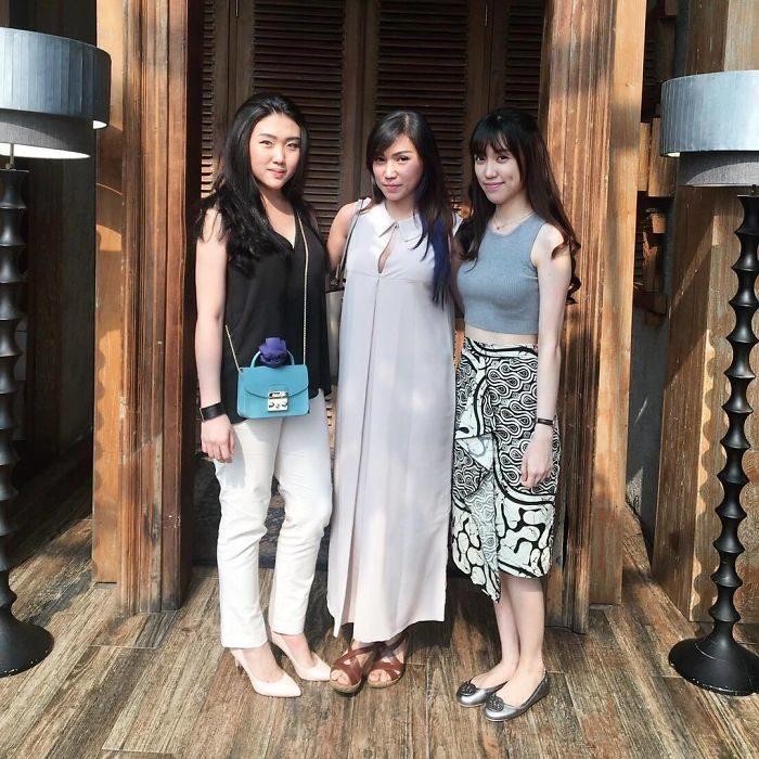 japón Madres e hijas parecidas jóvenes y bellas