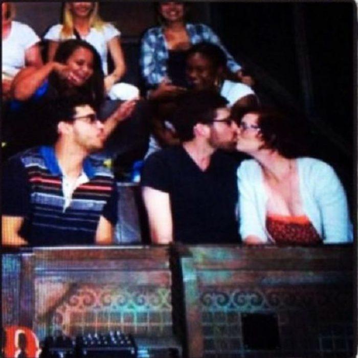 mal tercio kiss cam