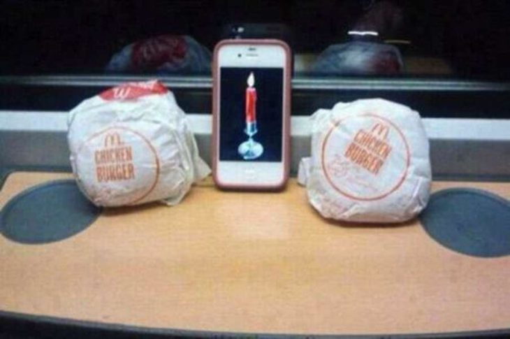 vela y dos burger king