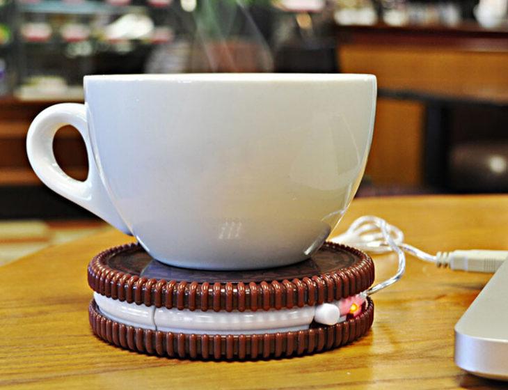 calentador de café usb