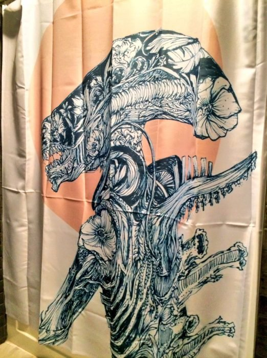 cortina de baño fea