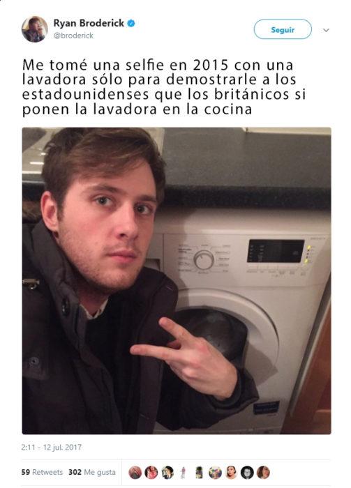 ¿tendran la estufa en el cuarto de lavado?