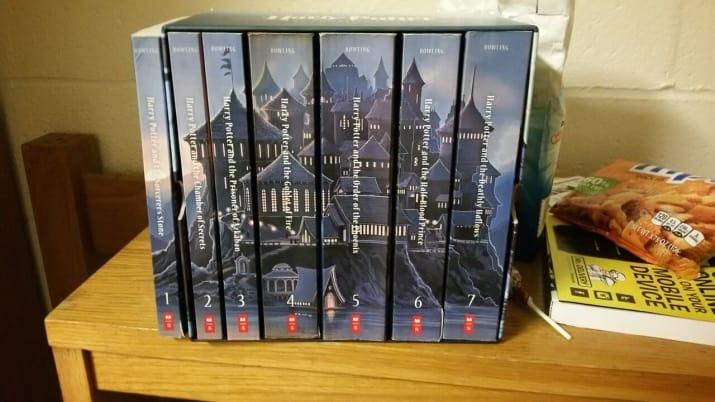 libros acomodados