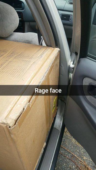 caja encaja auto