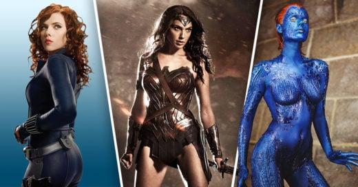 Cover Superheroínas y supervillanas más sexis del cine