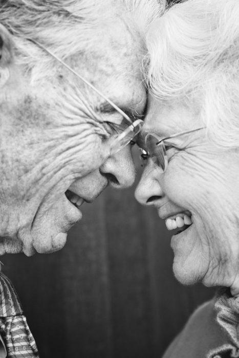 Abuelitos sonrientes RecreoViral.com