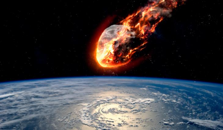 Impacto de un asteroide