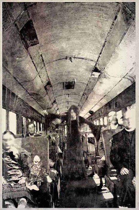 autobús fantasma fotografías perturbadoras