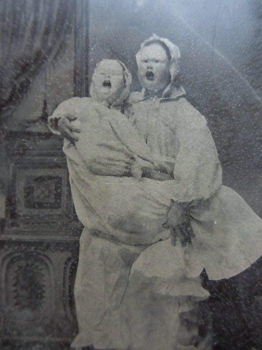bebés payaso