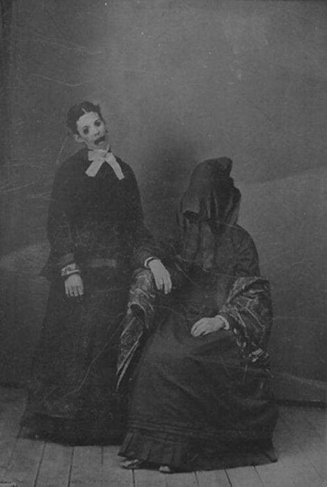 fantasmas fotografías perturbadoras