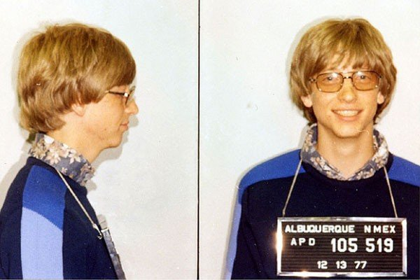 Bill gates detenido