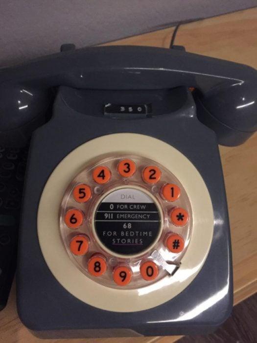 Teléfono para escuchar historias