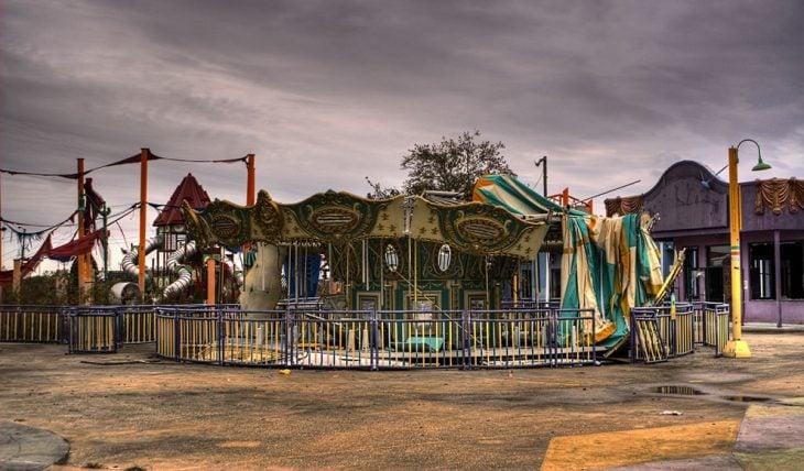 parque de diversiones abandonado