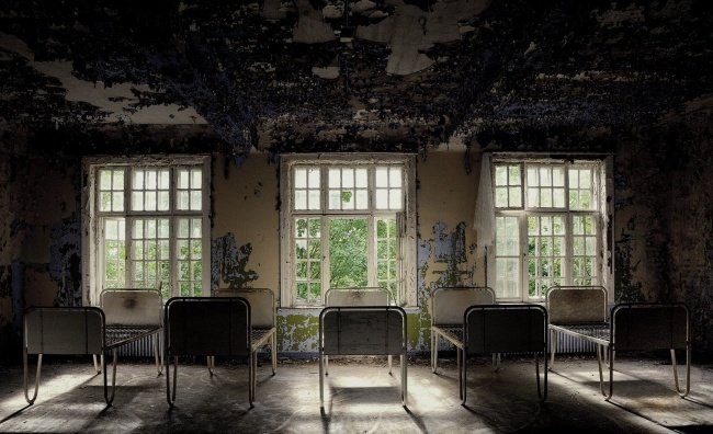 orfanato niños abandonados