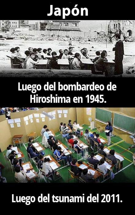 La educación es primero
