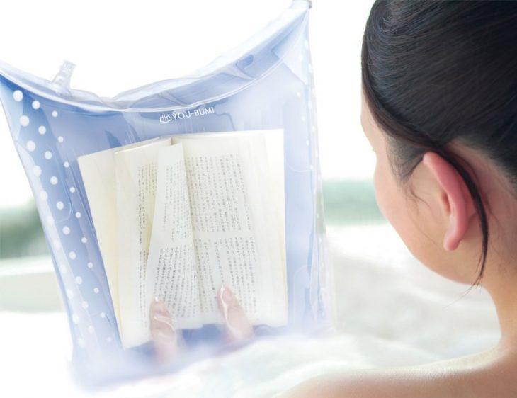 cubierta de libro impermeable