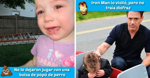 Cover Padres toman fotos a sus hijos llorando y explican el motivo