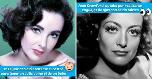 Cover Viejos y extraños tips de belleza que seguían las estrellas de Hollywood