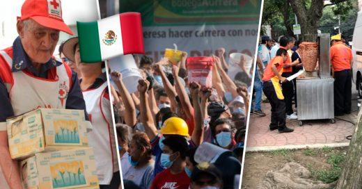 Cover Conmovedoras imágenes que muestran que la fortaleza de México está en su gente