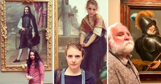 Cover Personas que encontraron a su doble en pinturas de museos