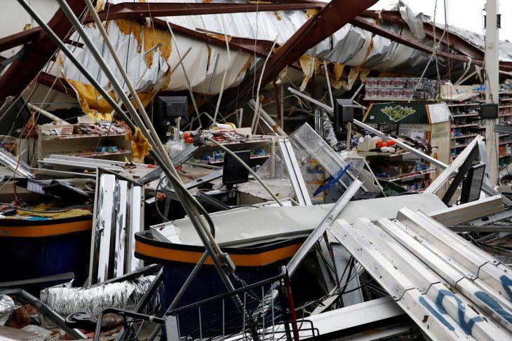 hurac+an maría devastador