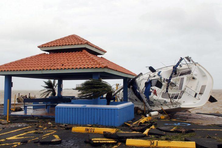 imágenes devastadoras huracán
