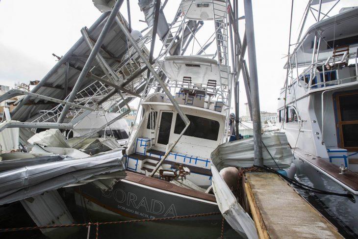 devastación huracán maría