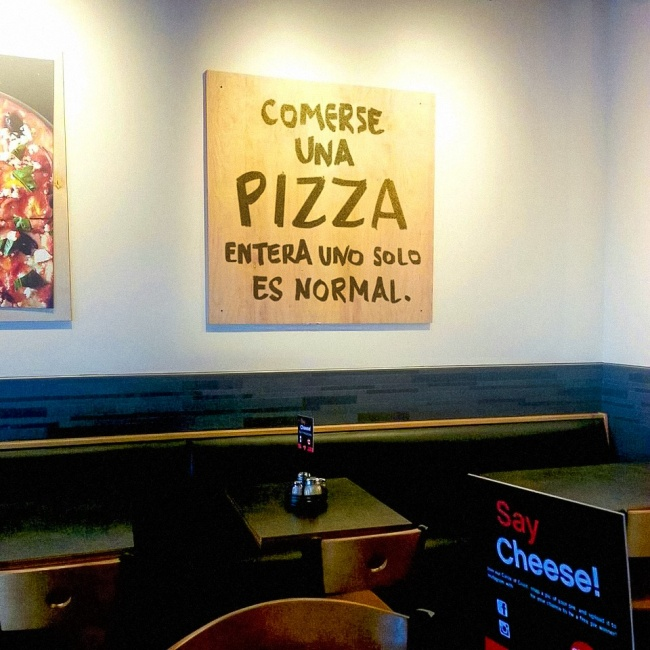 pizza entera