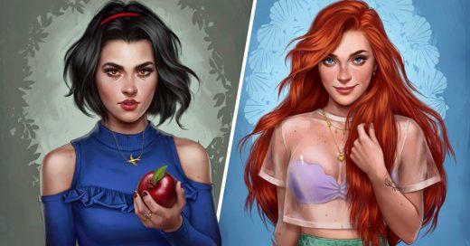 Cover Princesas que escaparon de los cuentos para convertirse en millennials