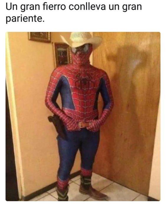 Versión alterada de Spiderman