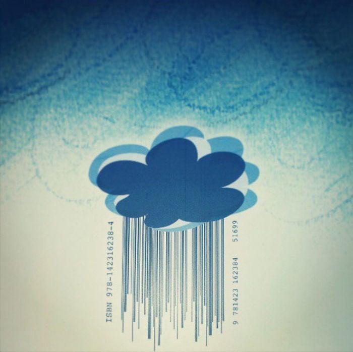 codigo de barras libro lluvia
